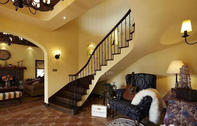 别墅 复式家居室内楼梯 十大设计要点