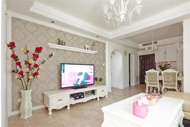 76平简欧清新婚房,家无需太大,只要温馨就足够!