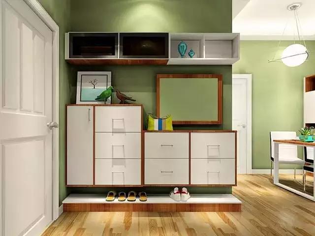 出绝招,墙面做收纳,竟然省出40%的空间