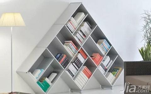 书架设计竟然可以这么玩?