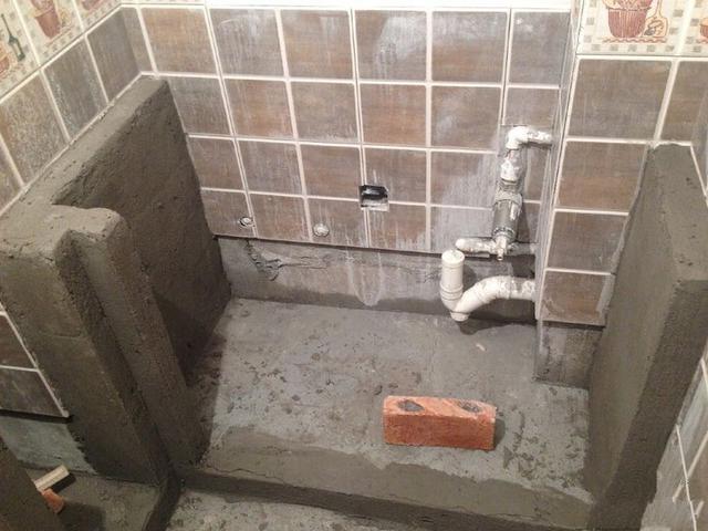 老公不要整体橱柜,看砖砌橱柜的流程大揭密!