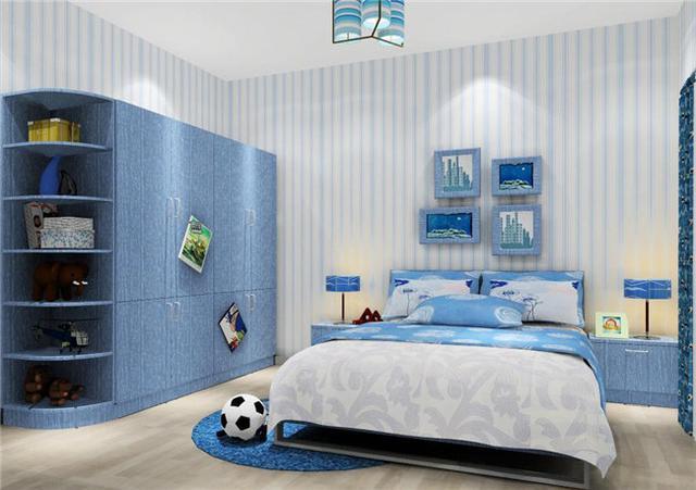 装修欣赏:小户型卧室与地中海风格最搭哦