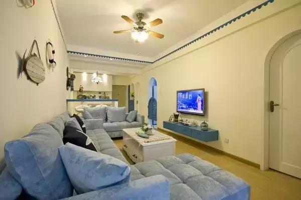 你家的客厅组合out了,看看人家是怎么布置的!
