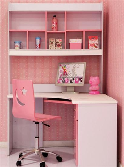 儿童房书架书桌省空间 为你推荐12款儿童学习桌