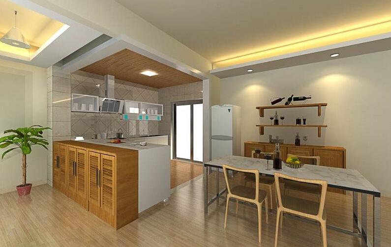 多功能厨房怎么装修