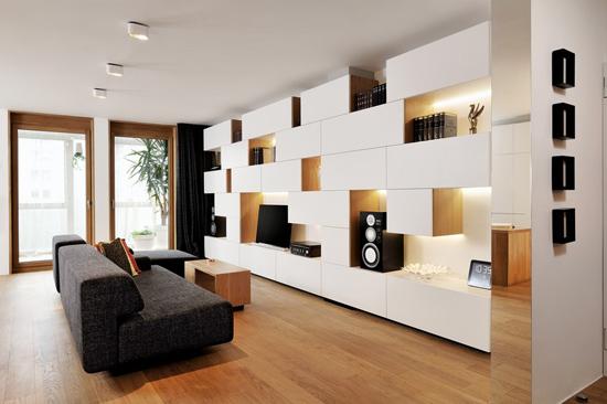 现代简约风格二居室效果图设计