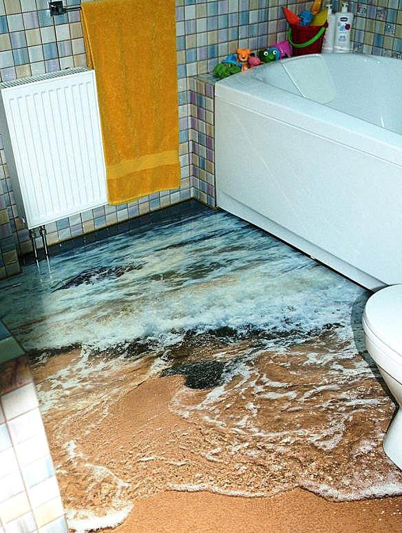 3D地板,你家要不要?