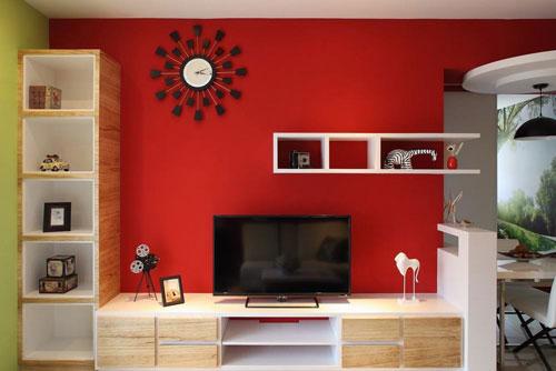 现代简约风格小户型 创意无限色彩搭配