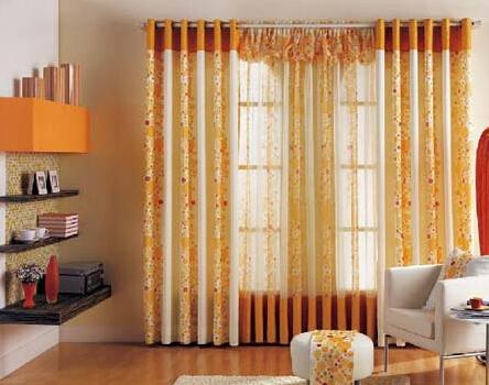 挑选正确的窗帘色彩 让心情美美的