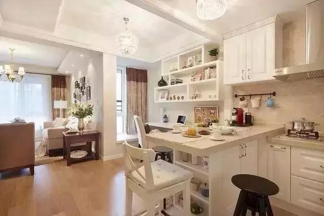 85平方美式两居室,装的竟然如此的奢华!