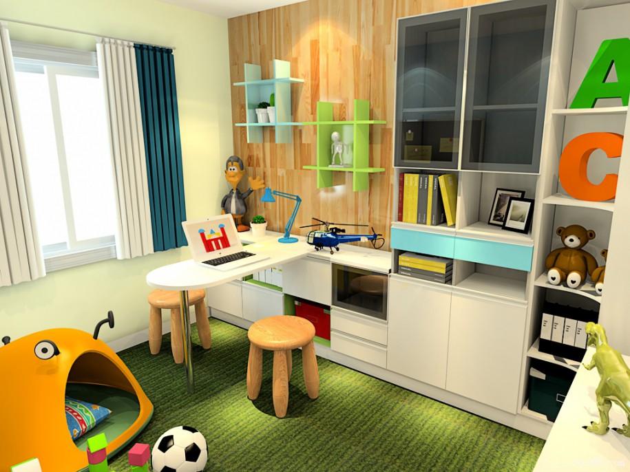 多彩特色儿童房 儿童房装修