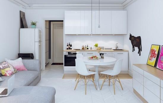 70平小户型北欧风装修 精心设计完胜90平住宅