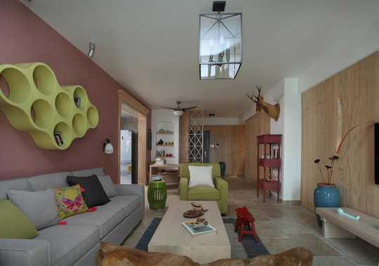 137平高颜值混搭风的家,非常、非常赞!