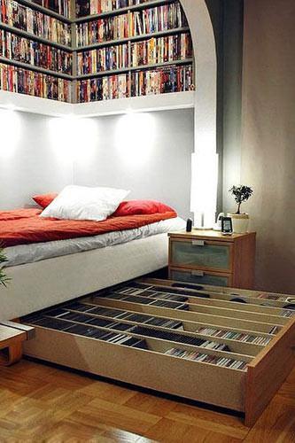 一个柜子装下整个卧室,1房当3房用!老婆说很想要