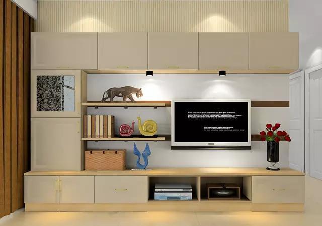 客厅逼格高不高,看的就是电视柜!
