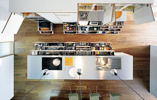如何利用抽屉做好厨房收纳