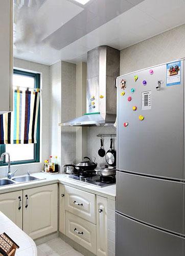 最精致的小户型厨房设计 内外兼顾得当