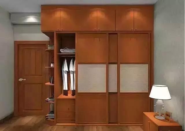 衣柜是卧室的主角,这样的衣柜800件也塞得下!
