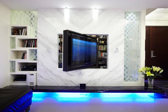 现代简约风格装修,现代简约风格案例,大户型装修,大户型案例,客厅设计