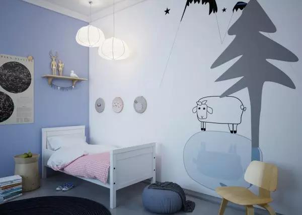 儿童房装修|如何设计才能激发孩子想象力?