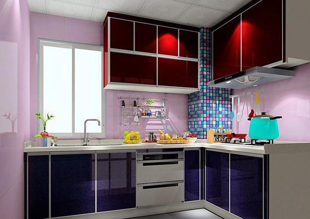 5平米小户型厨房装修效果图 小户型L型厨房设计效果