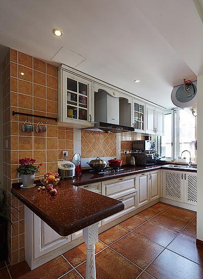 厨房没有这样的吧台,老婆怎么能好好做饭!