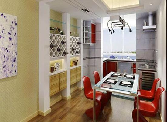 客餐厅有几种形式 家装客餐厅装修效果图
