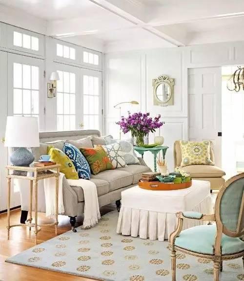 33间多彩而阳光的客厅,值得的一看