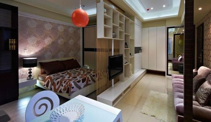 客厅卧室隔断效果图 让您脑洞大开的家具设计!