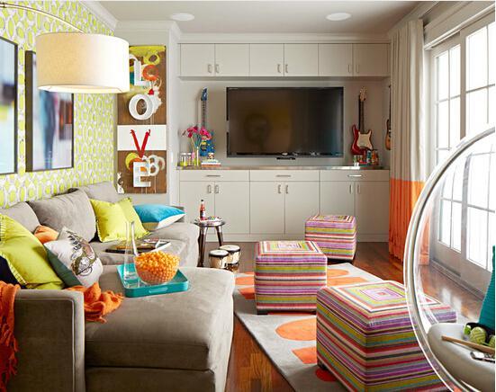 让人脑洞大开的客厅电视背景墙设计 震惊设计界!
