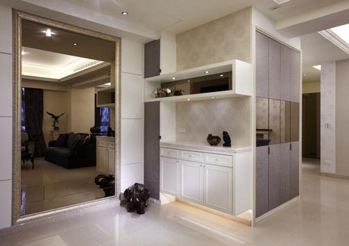 家中第一抹风景 流行时尚的玄关设计