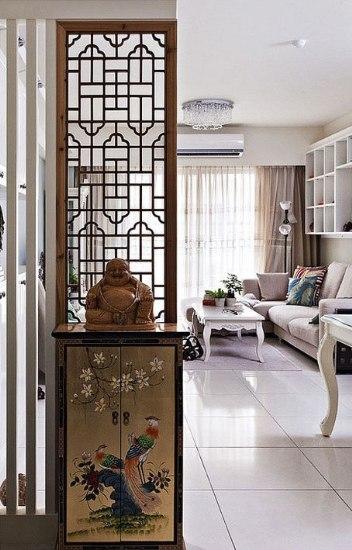 玄关设计 储物美观多种实用功能展现