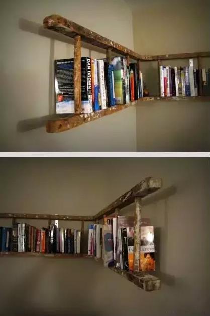 家居:别人家的梯子这么用!你家的梯子已进仓库?