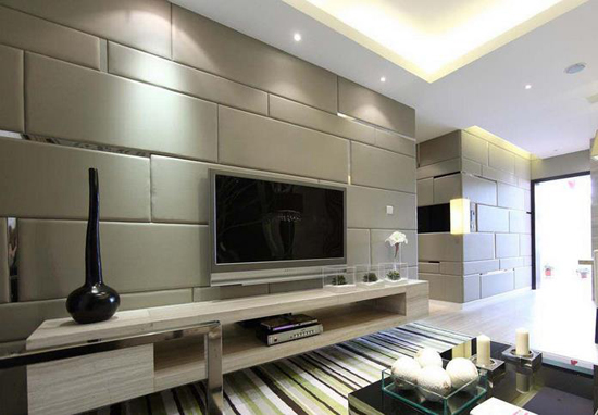 背景墙用什么材料 不同材料背景墙效果图欣赏