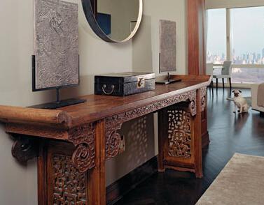 明式家具如何混搭国外各种家居风格