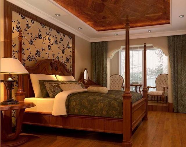中式卧室也能装修出现代感,我怎么没想到!