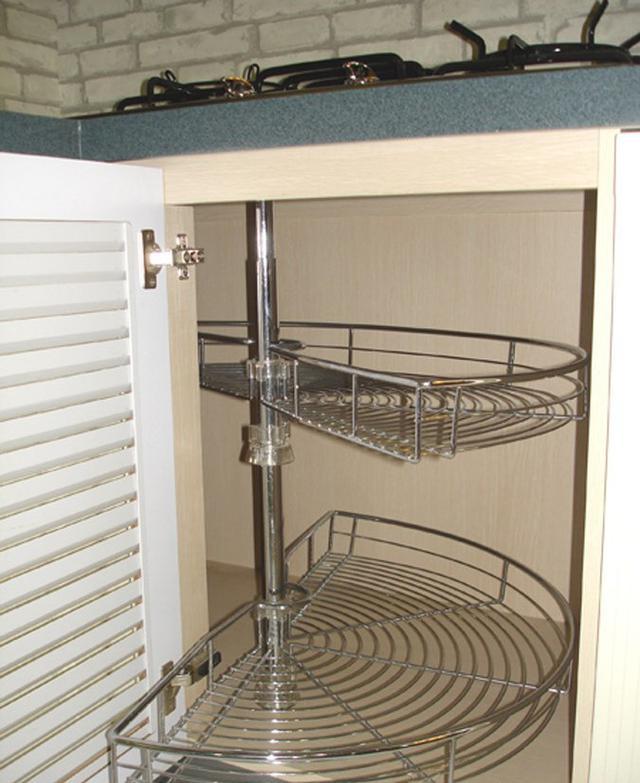 厨房橱柜这样设计,边边角角全利用到!