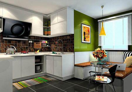 开放式厨房,整体橱柜这样设计超美!