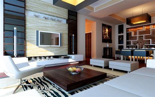 房子装修图 简约而不简单的时尚装修风格!