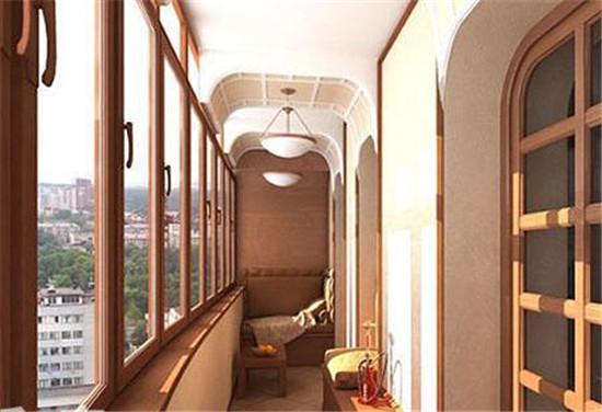 小空间大作为 8款狭窄阳台设计