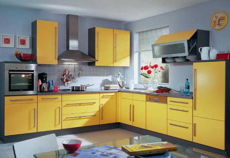橱柜效果图 颜色搭配技巧 厨房装修