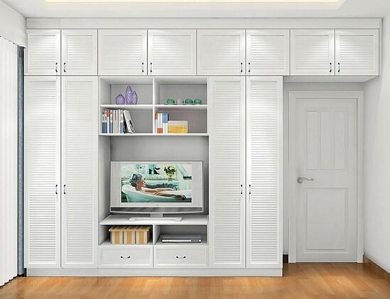 组合衣柜能让家变大10�O,你居然还不知道!