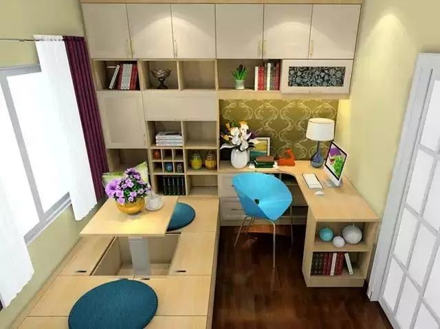 【设计支招】小户型家装设计,省钱又省空间
