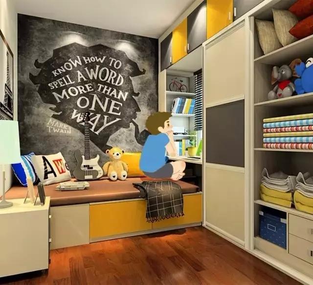 身为爸妈一定要看的儿童房装修实例!