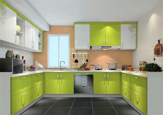 连厨房橱柜都这么美,要怎么舍得做饭