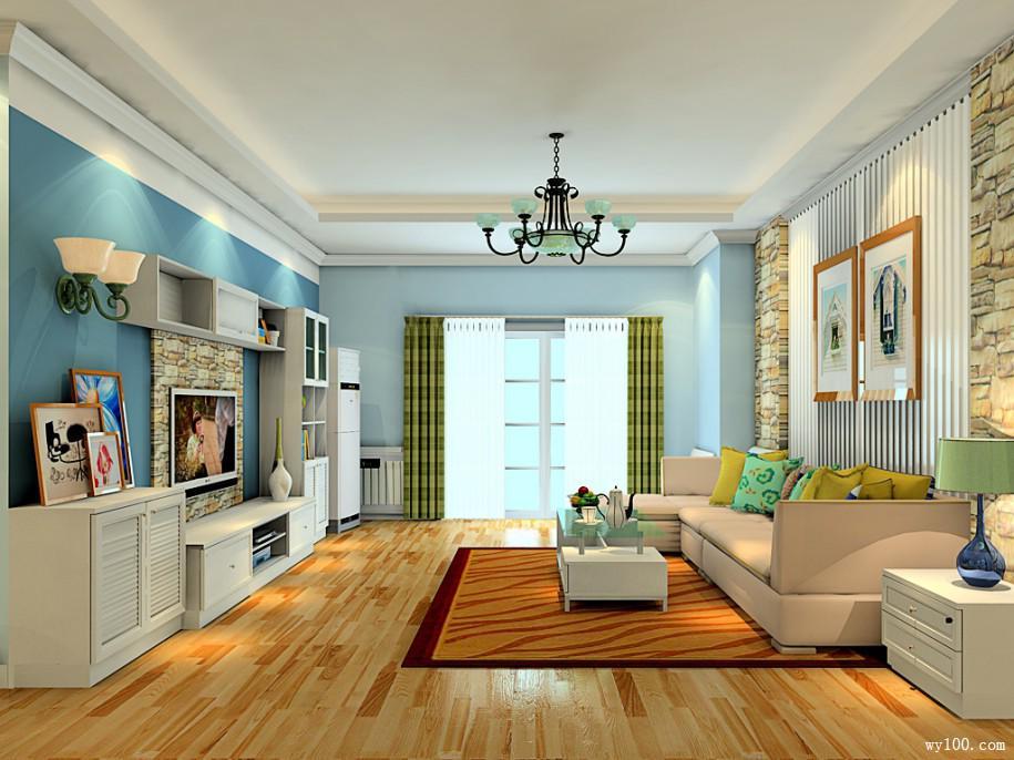 千变万化的装修风格 三款客厅背景墙效果图