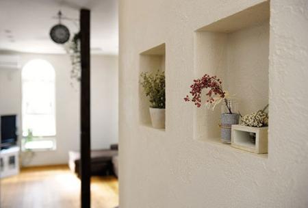 小户型房间装饰恬淡悠然之感