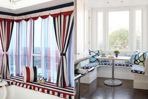 客厅飘窗设计 多功能飘窗