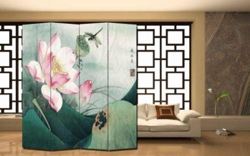 移动式屏风装饰设计效果图