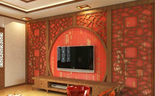 壁纸电视墙装修效果图